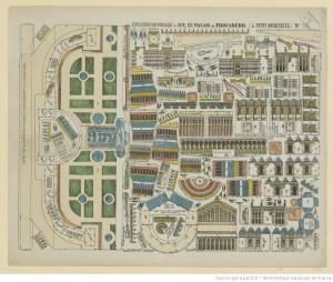 Le petit architecte. N° 116, Exposition Universelle de 1878, le Palais du Trocadéro (Source : Bibliothèque nationale de France, département Estampes et photographie, FOL-LI-59)